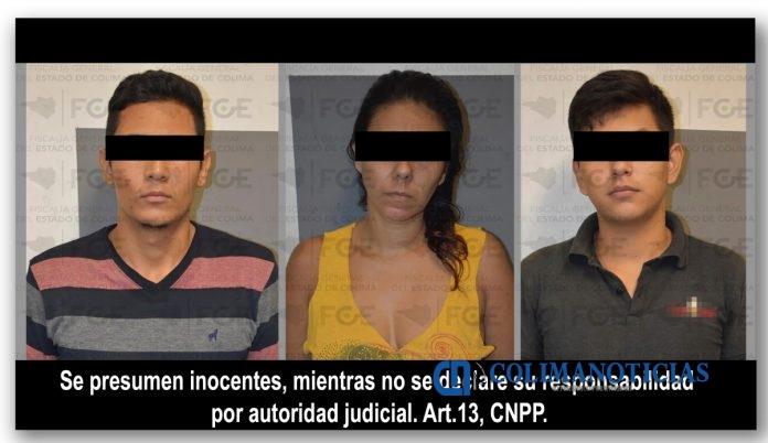 Foto Cateo 696x402 - Resultan tres detenidos y droga asegurada en cateo