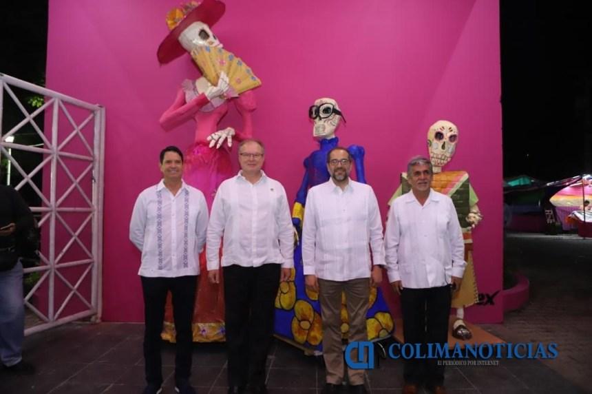 JIPS Inauguración 1 1024x681 - ¡Colima de fiesta: inicia la Feria de Todos los Santos!