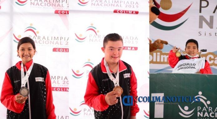 YARETZI PLATA side 696x383 - Suman paraatletas colimenses 5 medallas más en la Paralimpiada Nacional 2019