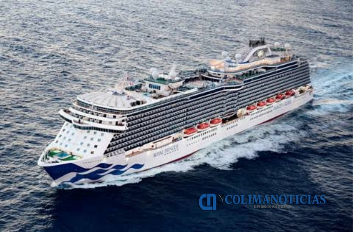 crucero Royal Princess - Mañana atraca el impresionante crucero «Royal Princess»