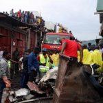 AVION CHOCA CONTRA CASA EN CONGO 150x150 - 23 muertos en el Congo; avión se estrella contra casa