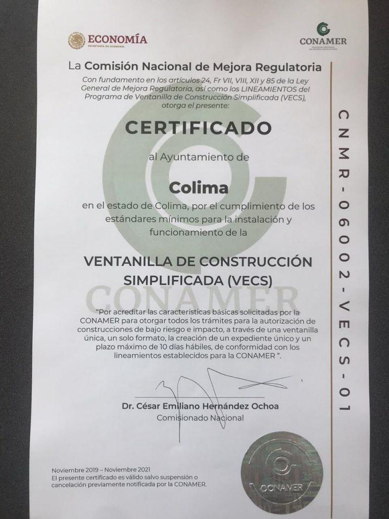 Ayto de Colima es reconocido a nivel nacional como 1er lugar por buenas prácticas de gobierno 768x1024 - Ayto de Colima es reconocido a nivel nacional como 1er lugar por buenas prácticas de gobierno