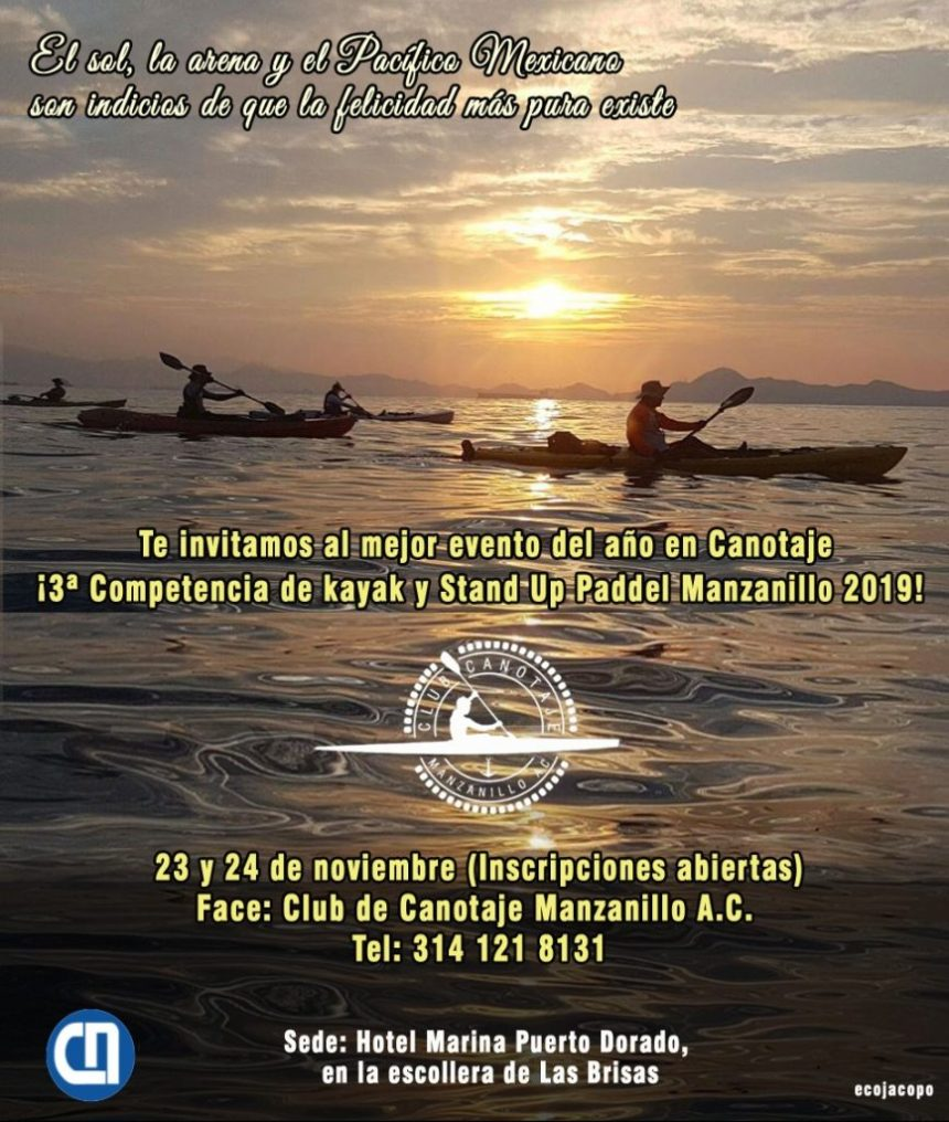 Competencia de Kayak y Stand Up Paddel Manzanillo 2019 3 867x1024 - 3.ª Competencia de Kayak y Stand Up Paddel Manzanillo 2019