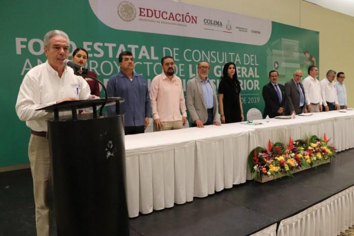 Inaugura SE Foro Estatal de Consulta del Anteproyecto de Ley de Educación Superior