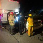 choque autobus 150x150 - Accidente afuera de la central de autobuses foráneos