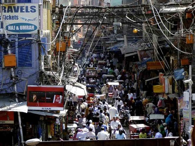 contaminacion en la india
