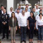 gobernador con 7 municipios por la seguridad 150x150 - Gobiernos Federal y Estatal buscan fortalecer a ayuntamientos en seguridad