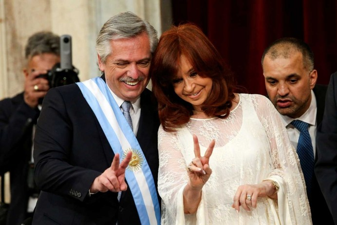 Alberto Fernández toma posesión en Argentina