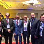 Eduardo Hernández con varios rectores de Gto Gdl San Luis Potosí y Michoacana de San Nicolás de Hidalgo en la FIL 150x150 - Respaldan rectores del país a la UdeC