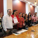infocol reconoce 150x150 - Infocol reconoció a Congreso Local por cumplir al 100% en Transparencia
