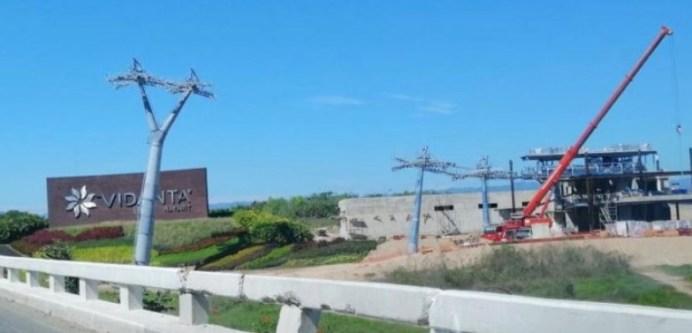 Construyen teleférico que conectará Puerto Vallarta con Nayarit
