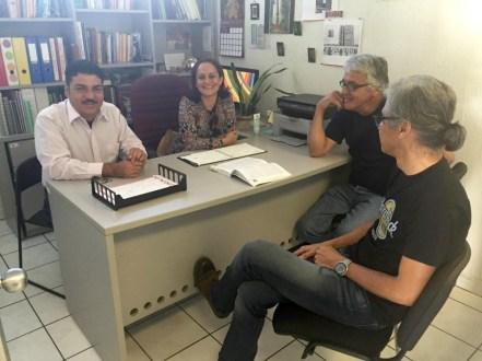 Gabriel Barbosa, Ximena Zacarías, César Verdugo e Isaac Uribe