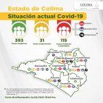 covid19 colima 150x150 - Confirmados 115 casos de #Covid-19 y 3 nuevas defunciones en el Estado de #Colima
