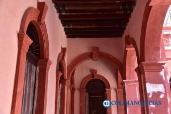 Colimenses podrán apreciar del color original de Palacio de Gobierno