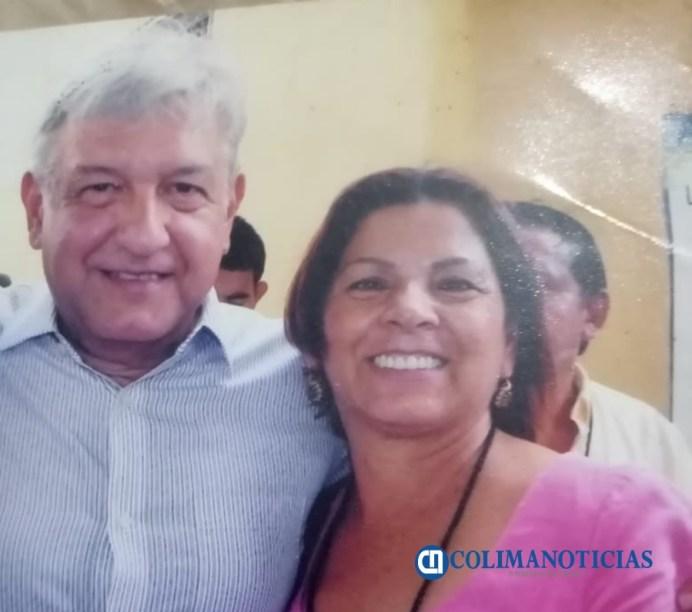Fundadora de Morena en Colima, solicita apoyo de AMLO