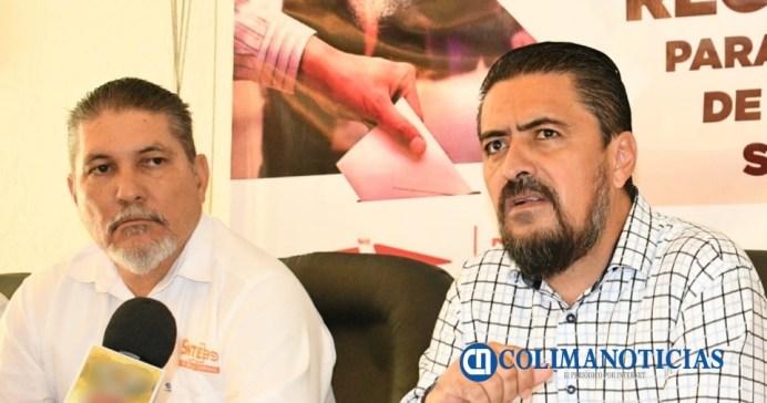 Lideres de SNTE Colima