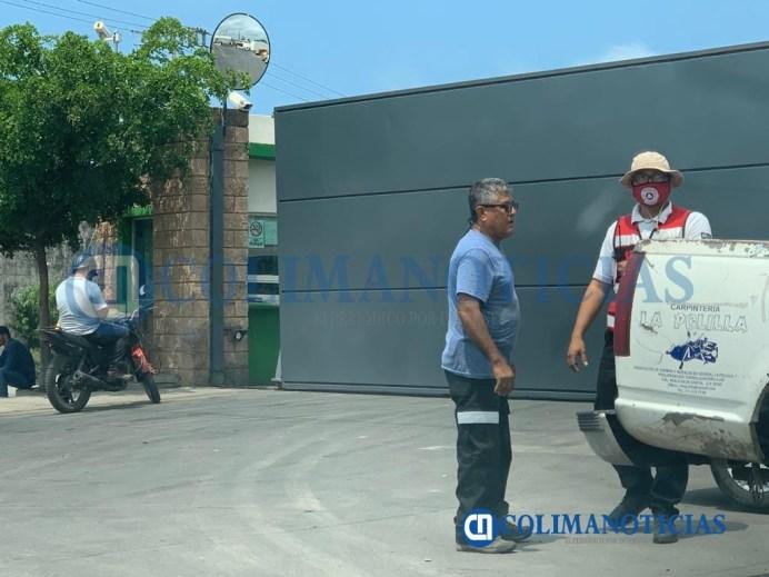 Fuga de amoníaco en la empresa Citrojugo en Tecomán causa alarma entre vecinos