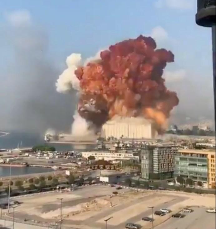 Varios heridos en Beirut tras explosión