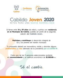 convocatoria para participar en el Cabildo Joven de Colima, hasta el 21 de agosto