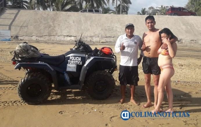 rescatados policía turistica