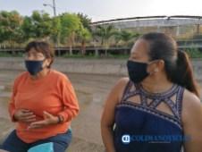 Exigen familias de Santiago solucionar escurrimientos de aguas negras del arroyo9
