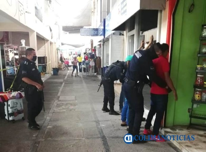 Seguridad pública realiza rondines en zonas de alto riesgo en Tecomán