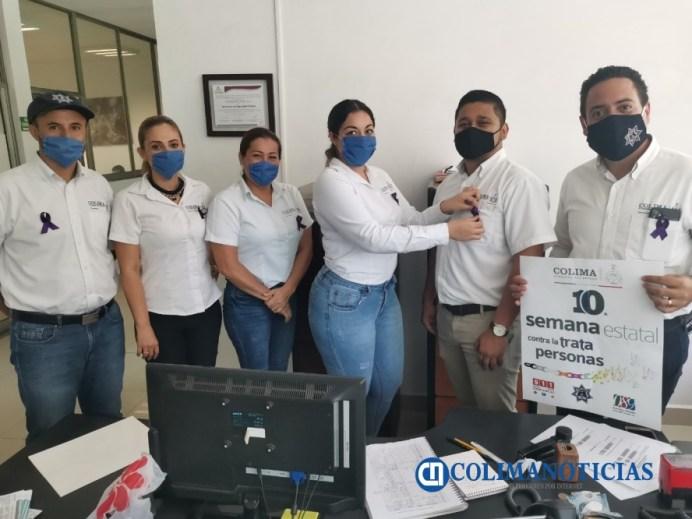 Participa SSP en la semana estatal contra la trata de personas