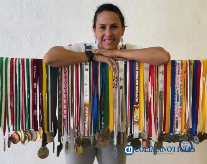 Maestra Citlali Estrada_Premio Estatal del Deporte