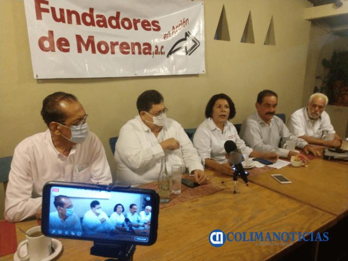 Fundadores de Morena en Colima