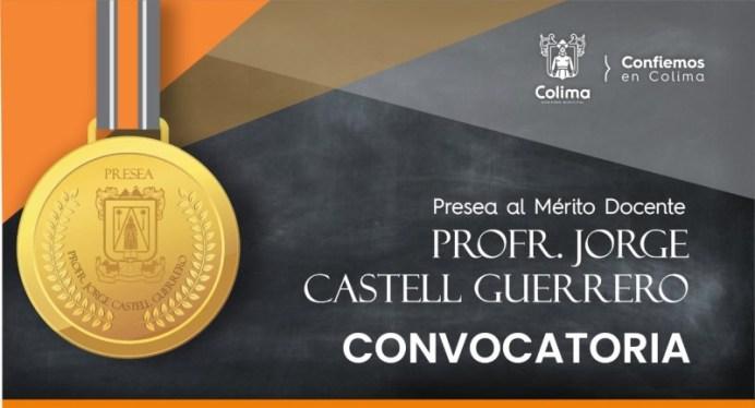Este viernes 29 de enero cierra la convocatoria para obtener la Presea al Mérito Docente