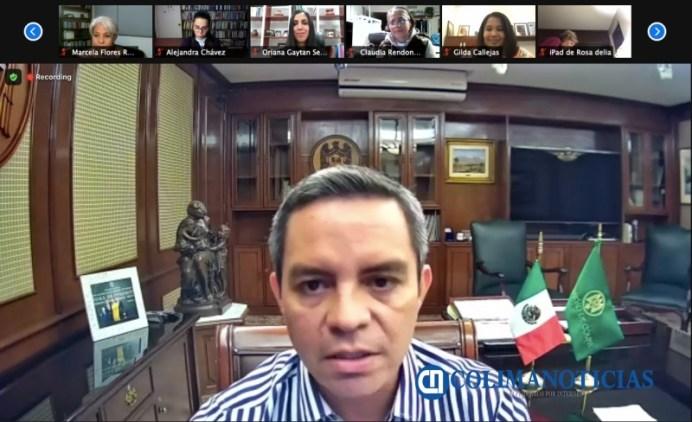 PRINCIPAL_Conversatorio Jorge Chávez, a cien años de su natalicio_Rector Christian Torres