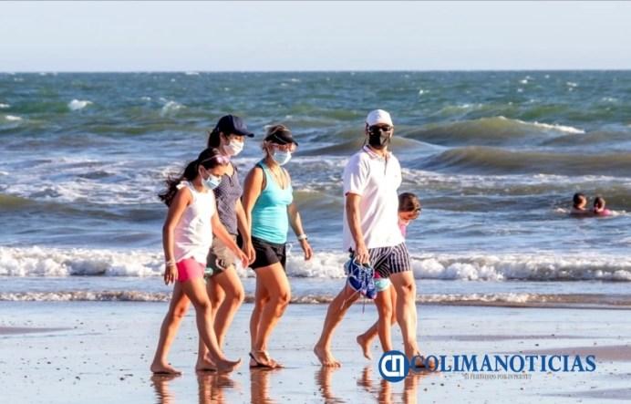 turistas playas covid