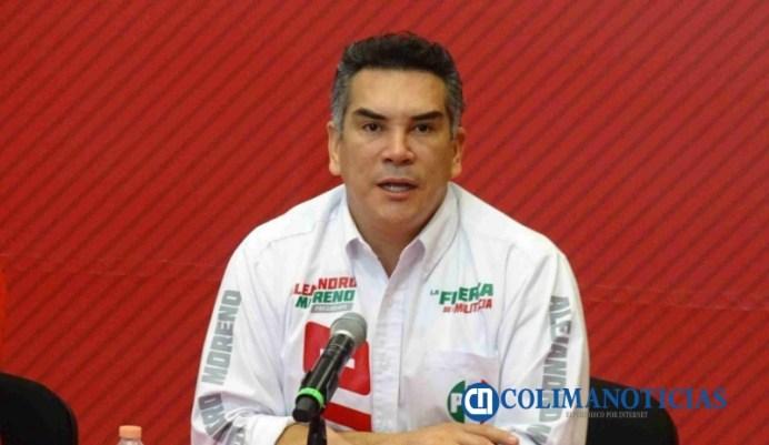 'Alito' Moreno visita Colima este martes