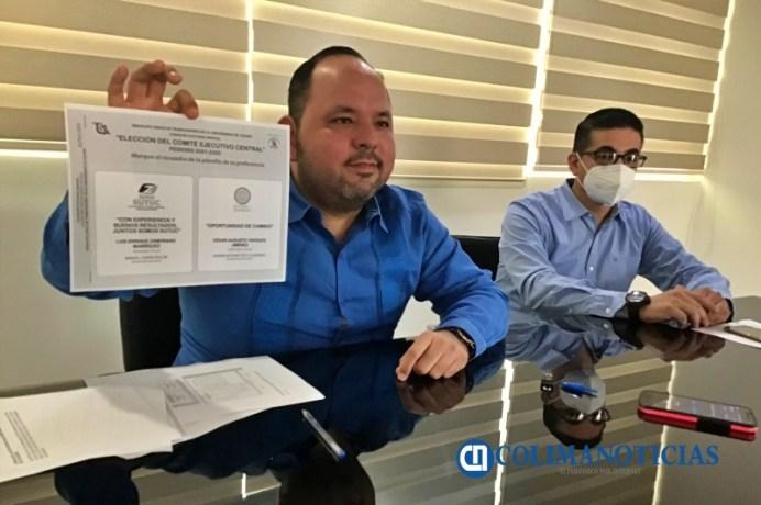 Comisión Electoral del Sutuc Óscar Silva
