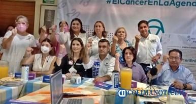 Riult y Mely firman carta para recuperar y blindar recursos destinados a tratamientos de cáncer