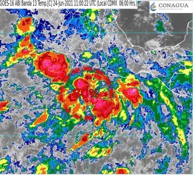 Emite el SMN aviso de ciclón tropical en el Océano Pacífico4