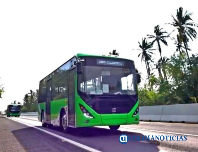 Ingresan por Manzanillo unidades eléctricas para el transporte público de Guadalajara