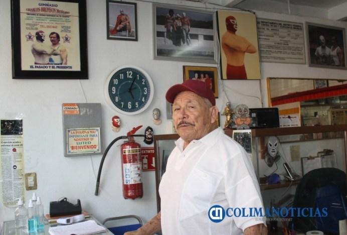 Ismael Ramírez, de 'Charles Bronson mexicano' a doble de 'El Enmascarado de Plata'01