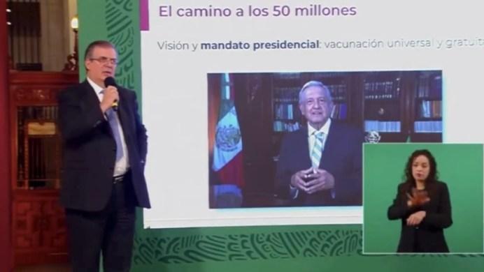 México donará vacunas AntiCOVID a cinco países