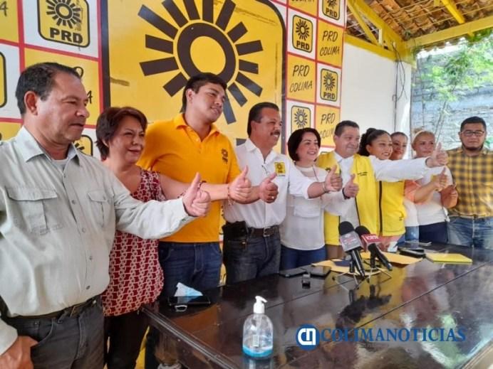 PRD se deslinda de la impugnación a la elección de la gubernatura