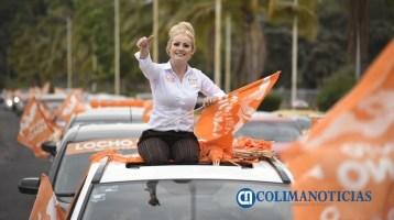 Paty Alcaraz coquimatlán caravana
