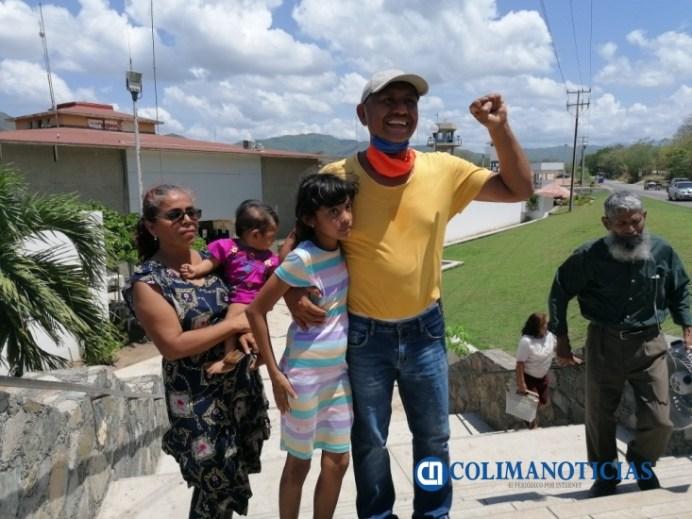 activista Diaz queda libre