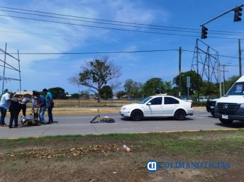 atropellan a ciclista
