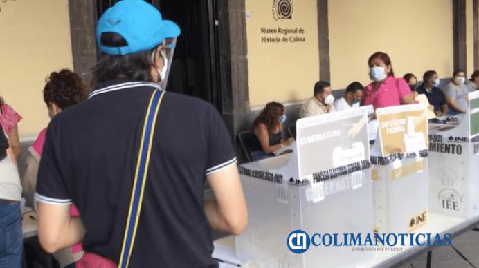 jornada electoral Colima