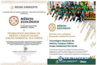 Galardón ecológico nacional para el Tec de Colima3
