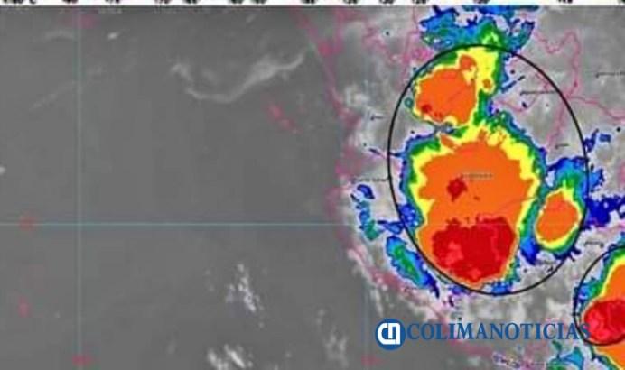 SMN pronostica lluvias para Colima