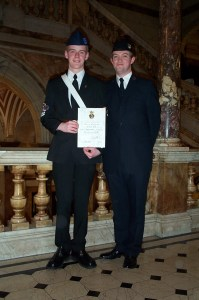 Stuart Wood and I at Glasgow City Chambers