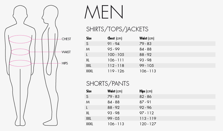 reece mens size guide