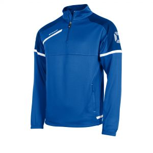 Prestige Half Zip Top_Royal_White