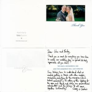 Wynyard Hall Wedding DJ and Master of Ceremonies Testimonial
